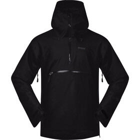Bergans Stranda Insulated Hybrid Anorak Men, black/solid charcoal
